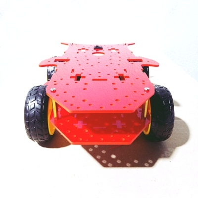 HTC-4WD Smart Robot Car Chassis Kit
