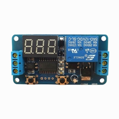 Delay on-off on trigger delay 12VDC