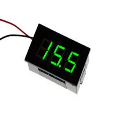 Modułe voltmeter  LED Green 4.5-30V