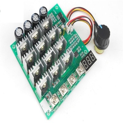 PWM DC motor controler  display 10-55V 60A