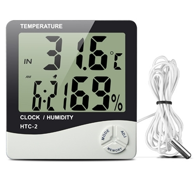 Digital Thermometer Humidity & temperature HTC-1