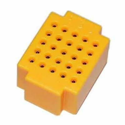 Yellow Mini Breadboard  ZY-25