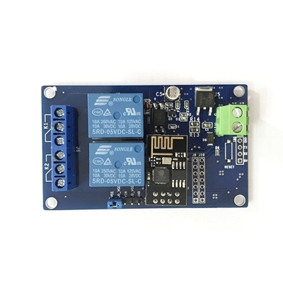 HTC-TECH Module HTC WiFi ESP8266 2 Relay