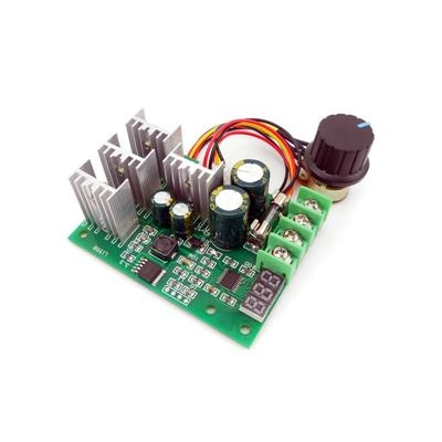 PWM DC motor 30A digital display 6V12V24V48V