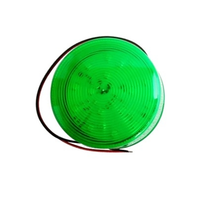 SL-79 flashing light 12V DC DC Green