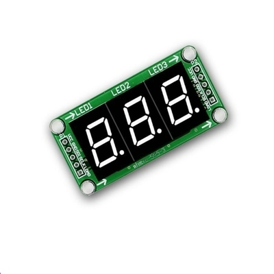 LED Display Module 3 Digital 74HC595 tube