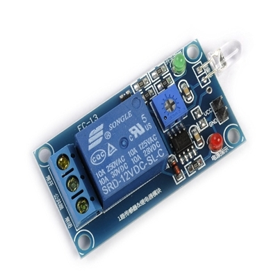 Photodiode 12V relay module light control