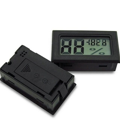 Mini Thermometer Humidity Temperature Meter LCD