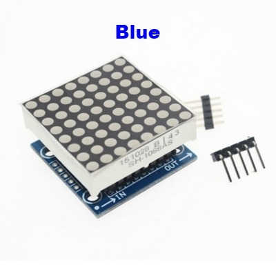 MAX7219 dot matrix module LED display 8*8 Blue