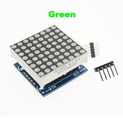 MAX7219 dot matrix module LED display 8*8 Green