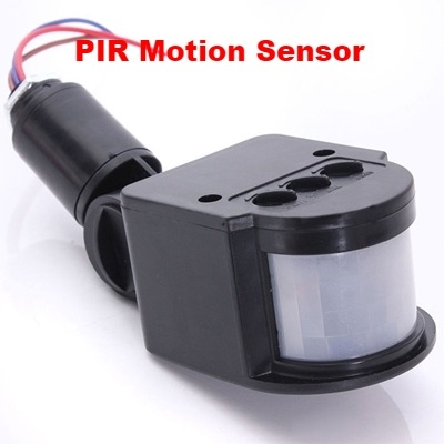 PIR Motion Sensor Switch Outdoor AC90V~260V