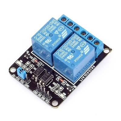 2-Channel Relay Module 12V