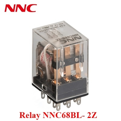 Relay NNC68BL- 2Z 220VAC-8PIN