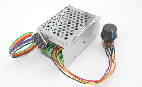 PWM DC motor controler digital display 6-60 V 30A