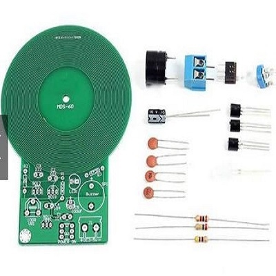 DIY Electronics component assemble Metal detection