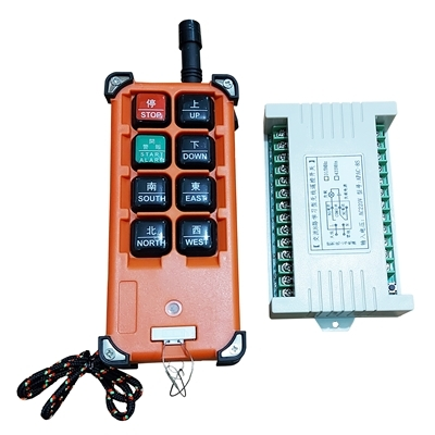 Remote -Receiver RF 315Mhz Industrial 8 button