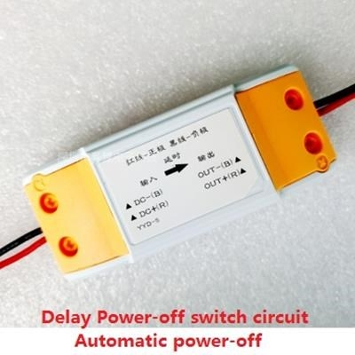 delay Power-off switch circuit Automatic