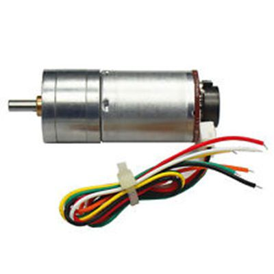 Gear motor with encoder GM25-370 -250RPM