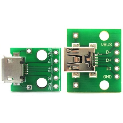 USB 3.0 female socket DIP module
