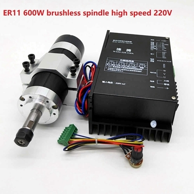 ER11 600W brushless spindle 220V