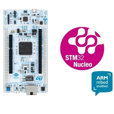 STM32 Nucleo-144 development board with STM32F767ZI MCU