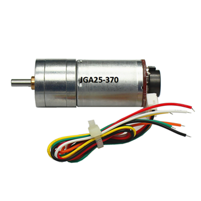 Motor encorder JGA25-370 12V 100RPM