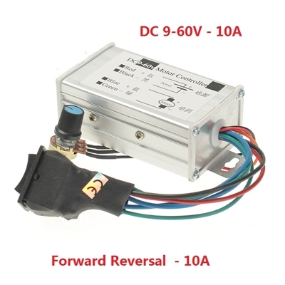 PWM DC motor variable speed pulse 9V-60V 10A