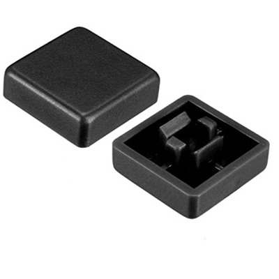 Black color KeyCaps 12X12X5.8mm -Square