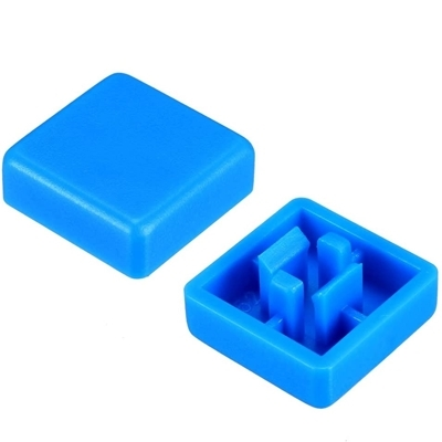 Blue color KeyCaps 12X12X5.8mm -Square