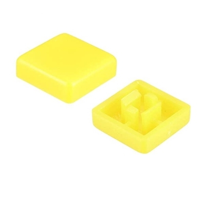 Yellow color KeyCaps 12X12X5.8mm -Square