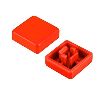 Red color KeyCaps 12X12X5.8mm -Square