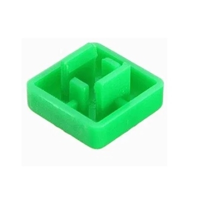 Green color KeyCaps 12X12X5.8mm -Square