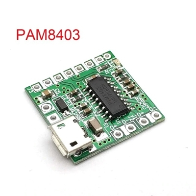 PAM8403 Module mini USB