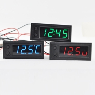 Digital clock module LED thermometer - RED
