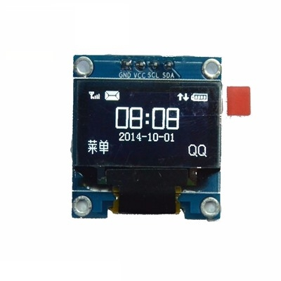 0.96 Inch 4Pin White I2C OLED Display