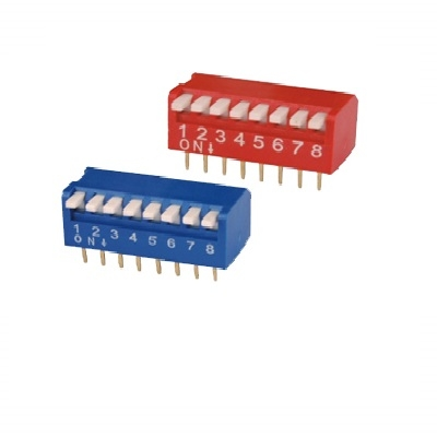 Dip Switch Piano Type 8POS