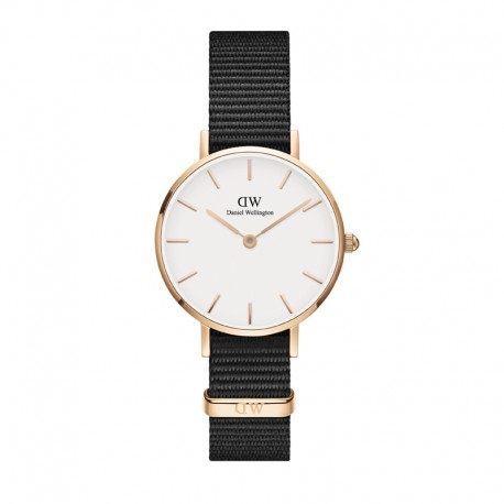 DANIEL WELLINGTON CLASSIC WHITE PETITE CORNWALL ROSE GOLD (DW00100251) 28MM