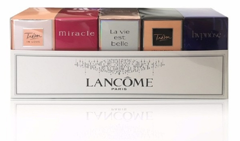 Bộ Giftset Lancome 5 Chai - The Best Of Lancome Fragrances