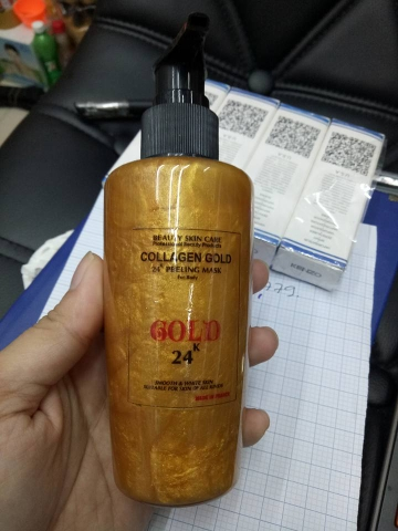 GEL LỘT COLLAGEN GOLD 24K