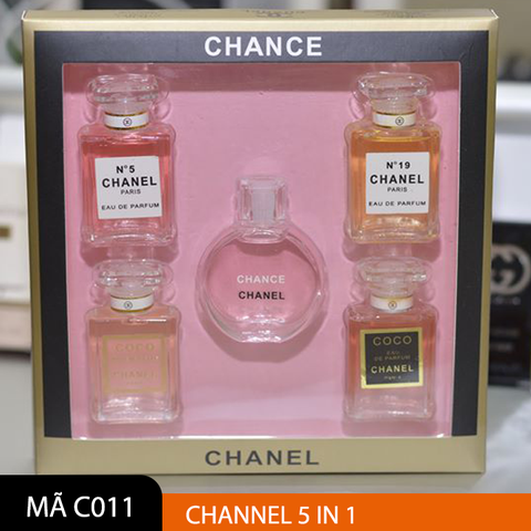 Bộ Chanel mini 5 chai (7.5ml/chai)