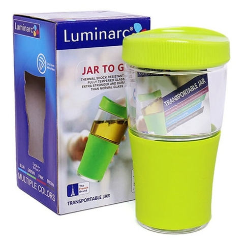 Ly TT Luminarc Transportable 500ml có nắp J9991