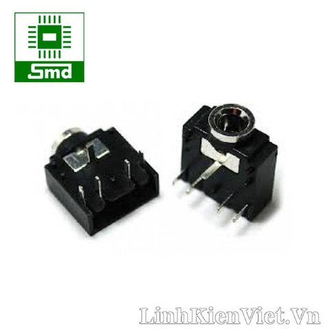 Jack Audio 3.5MM 3F07 5P (Đen)