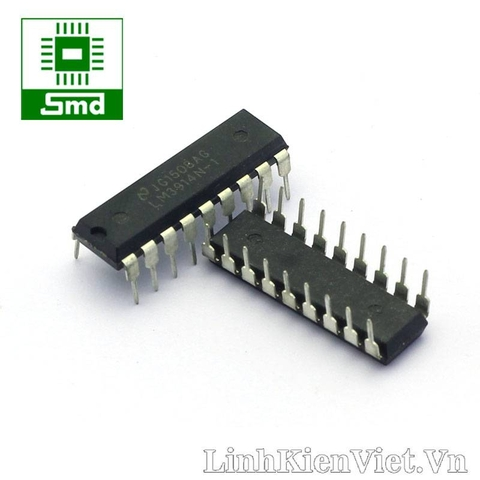 LM3914(IC equalyzer 10 kênh)