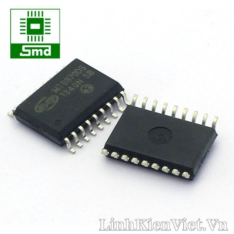 MT8870 DTMF Receiver SOIC18