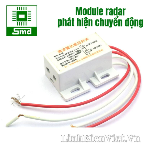 Module radar + light senser (Có switch)