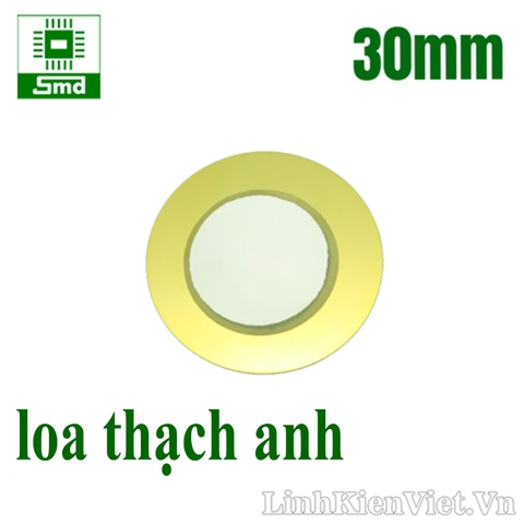 Loa thạch anh 30mm