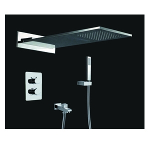 Haruki Waterfall Thermostatic Concealed Shower H50800