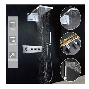 Haruki Waterfall Thermostatic Concealed Shower H50900