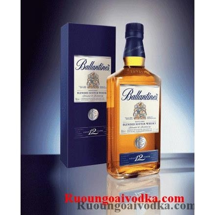 Rượu Ballantines 12 Years 0.75L