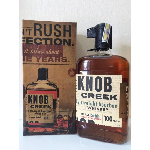 Rượu Knob Creek 9 Years 0.75L